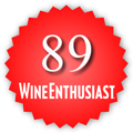 89 Wine Enthusiast