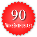 90 Wine Enthusiast