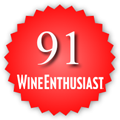 91 Wine Enthusiast