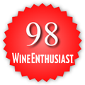 98 Wine Enthusiast